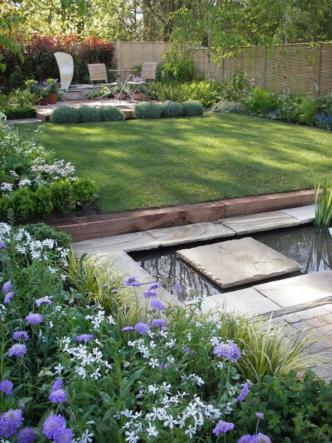 Jo Gardens designer of Inscapes Garden for RHS spring flower show in Cardiff.