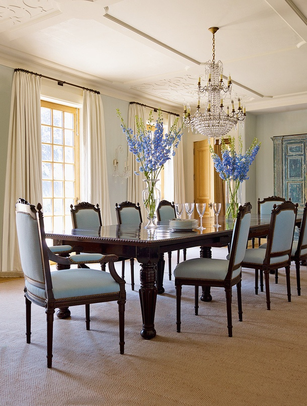 10 best dining rooms images on pinterest andy spade for Georgian dining room ideas