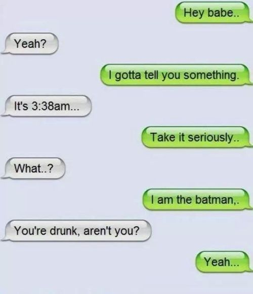 16 Times Drinking And Texting Mixed Perfectly...Or Horribly