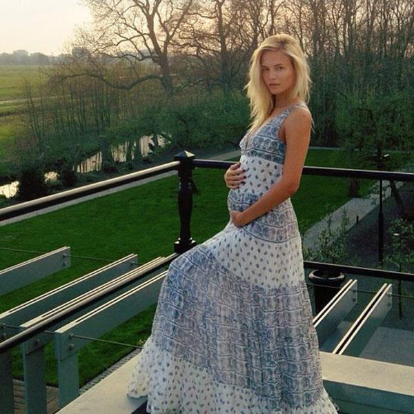 Natasha Poly announces pregnancy via Instagram