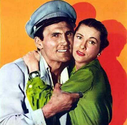 Jack Palance Joan Fontaine - Flight To Tangier