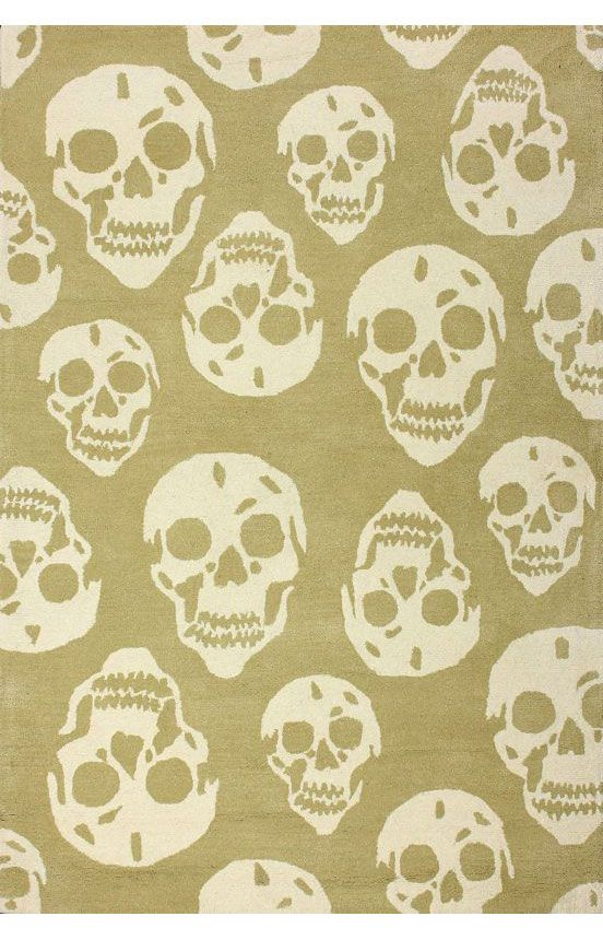 rugs usa cradle skulls biege rug rugs usa halloween sale 75 off area - Halloween Rugs