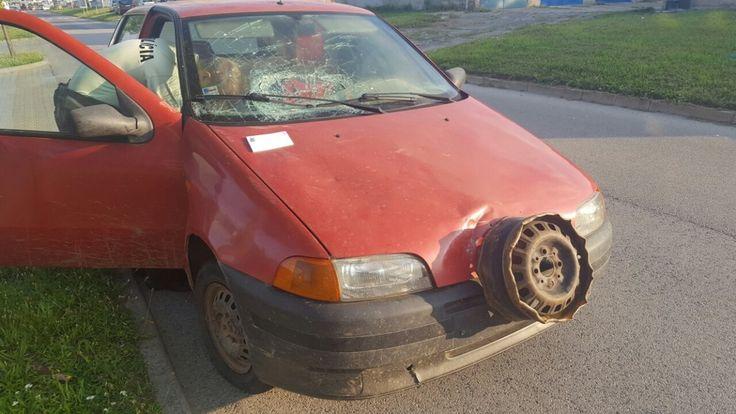 Za bezkonkurenčnú kuriozitu označili policajti auto, ktoré zastavili v Skalici.