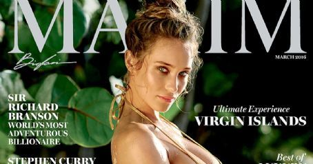 Hannah Davis Looks Seriously Sexy on the Cover of Maxim, Talks About Fiance Derek Jeter