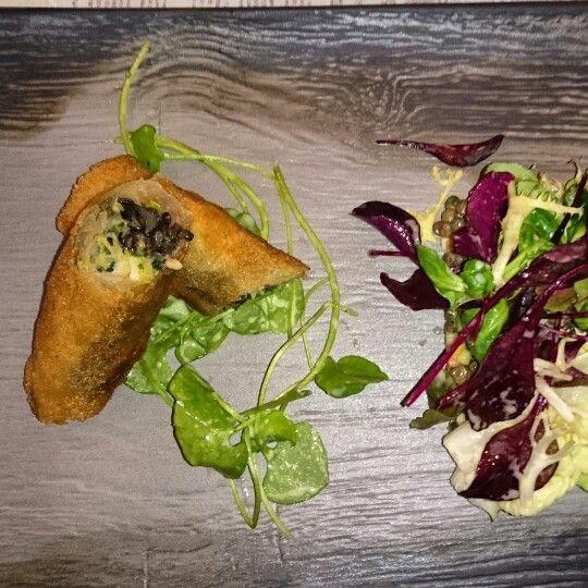 Restaurant La Coulemelle à St Bonnet le Froid.#recettes #régismarcon #gastronomie #escargots #lacoulemelle