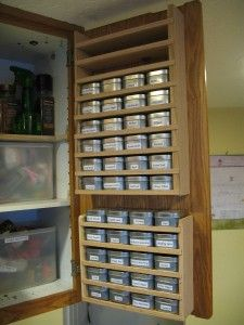 find this pin and more on spice storage solutions - Spice Storage