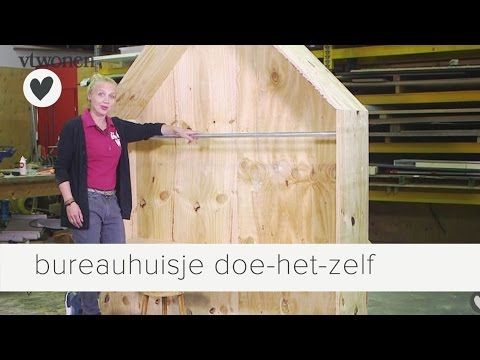 Speelhoek: bureauhuisjes van underlayment | vtwonen