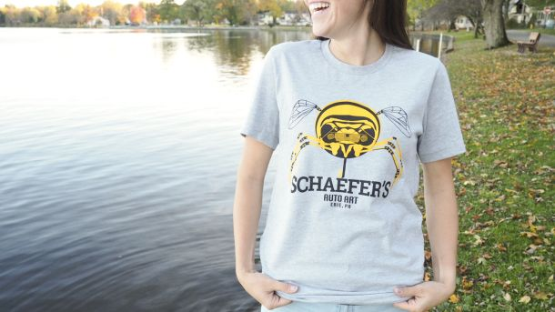 Schaefer's Auto Art, Erie PA t-shirt NOW AVAILABLE! www.saaerieshop.com