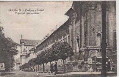 Praha 2- Karlovo náměstí- vojenská nemocnice