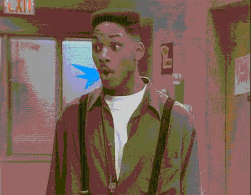 When your entire mind has been blown. | 29 Will Smith Reaction GIFs For Your Every Need