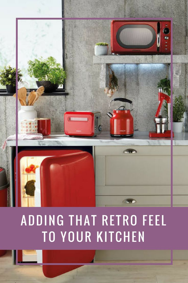 Adding that Retro feel to your Kitchen | A Few Favourite Things