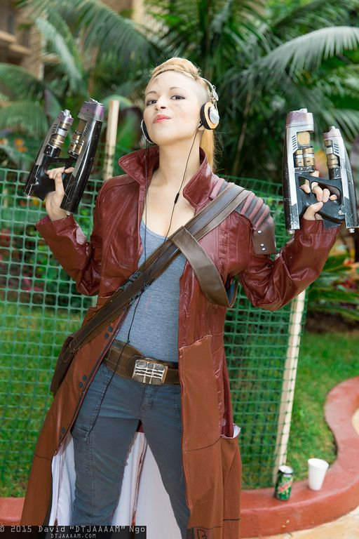 Star-Lord #Rule63 #cosplay | Anime Los Angeles 2015 - Saturday