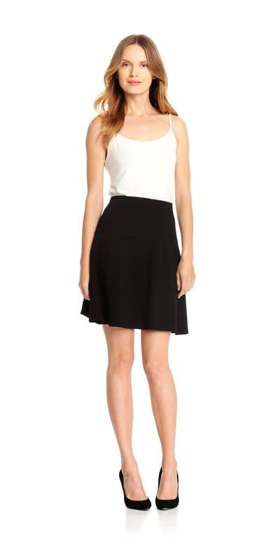 #1 Skirt Choice. Circle Skirt from Joe Fresh. Pull on a circle skirt with a flared silhouette in stretchy ponte.  Only $20. Medium.