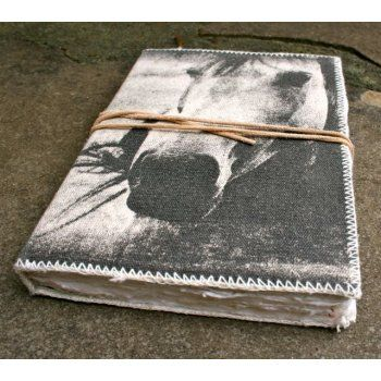 Beautifully handmade A4 bound journal