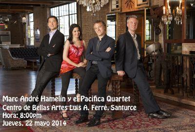 Marc André Hamelin y el Pacifica Quartet @ Centro de Bellas Artes, Santurce #sondeaquipr #marcandrehamelin #pacificaquartet #cba #santurce #sanjuan