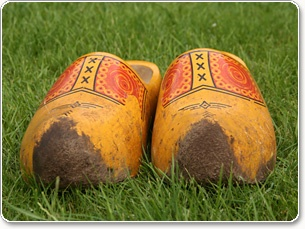 Wooden Shoes...well worn!