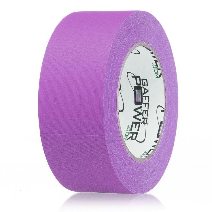 Gaffer Power Purple Colored Gaffer Tape - 2 inch x 30 yards