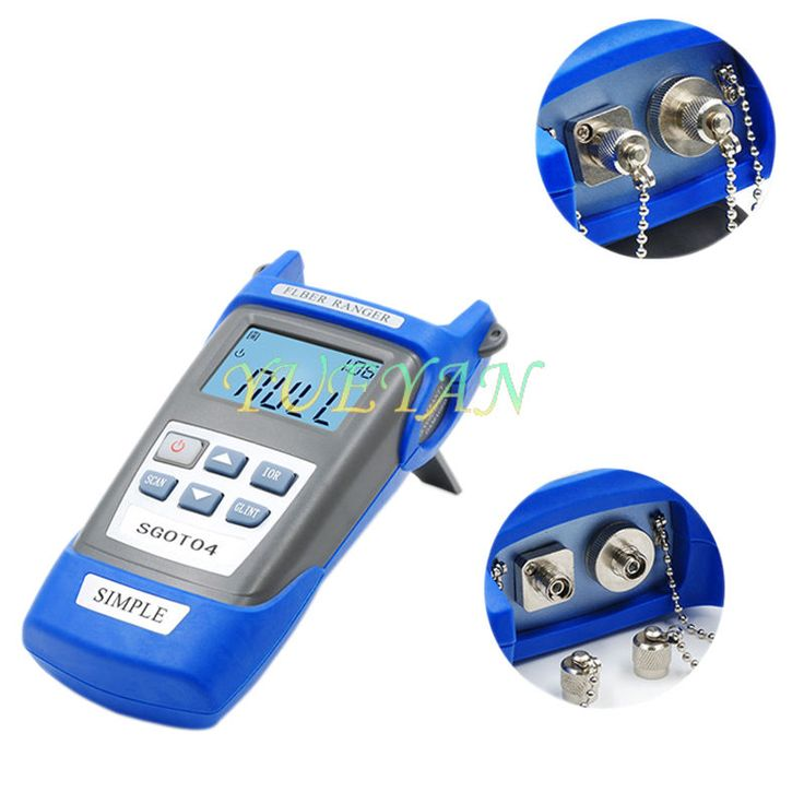 Optical Fiber Ranger OTDR Principle Tester Meter FTTx Network FTTH Tool Kit VFL   eBay