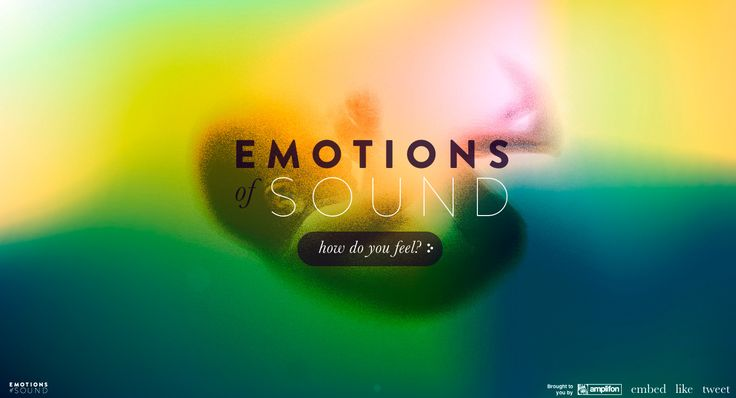 How do you react emotionally to sound? Using webkit-filters to react atmospherically to a user's feelings on a set of given sounds, it compa...