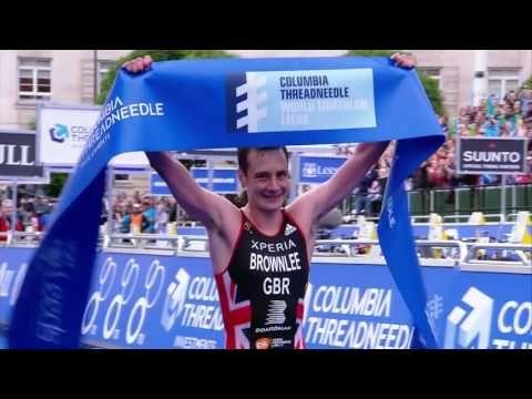 2016 Columbia Threadneedle World Triathlon Leeds - Elite Men's Highlights