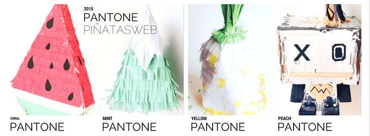 Pantone 2015 Piñatizado!!!