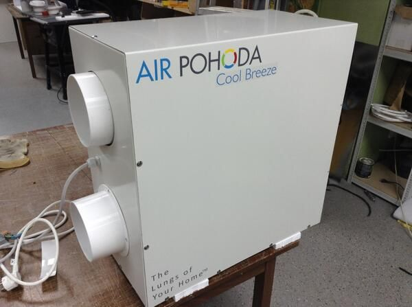 The Cool Breeze Unit From Air Pohoda Is Designed As An Add