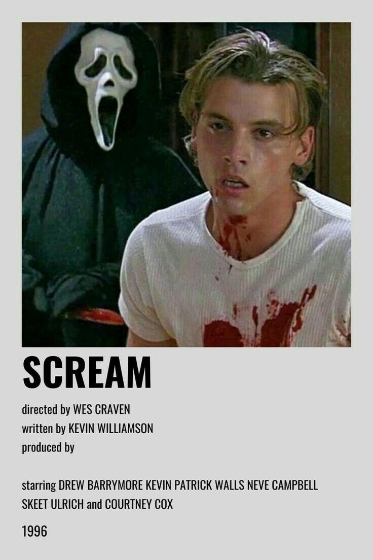 Scream poster in 2020 indie movie posters film posters