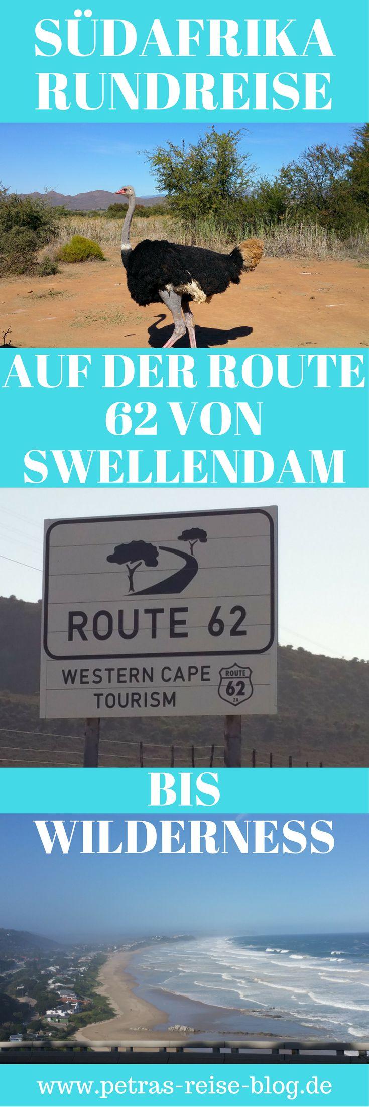 """SÜDAFRIKA RUNDREISE - HEUTE FAHREN WIR AUF DER ROUTE 62 VON SWELLENDAM BIS WILDERNESS: Mittags sitzen wir auf dem Strauß und abends liegt """"er"""" auf dem Teller. Von einer traumhaften Strecke, sagenhaften Stränden und unseren Erlebnissen """"im Hyundai I10 durch Südafrika erzählen wir euch gerne…"""