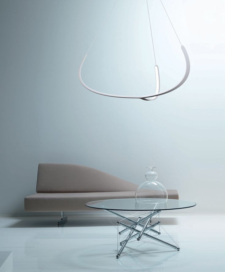 Lampade bianche: sospensione Alya • Design: Gabriele Rosa per Nemo Lighting | White lamps: Alya suspended lamp • Design: Gabriele Rosa for Nemo Lighting