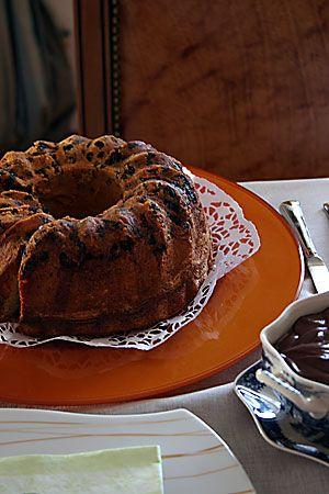 portakal ağacı: Kuru meyve & damla çikolatalı kek