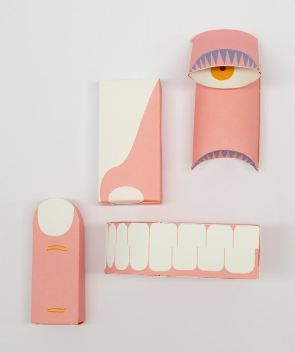 face parts packaging