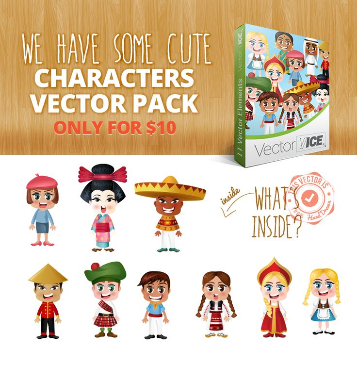 Download at: http://vectorvice.com/vector-packs/people-world-vector