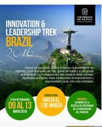 Escuela de Postgrado de la Universidad del Pacífico - Convocatoria: Innovation & Leadership Trek Brazil
