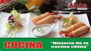 HISTORIA DE LA COCINA CHINA