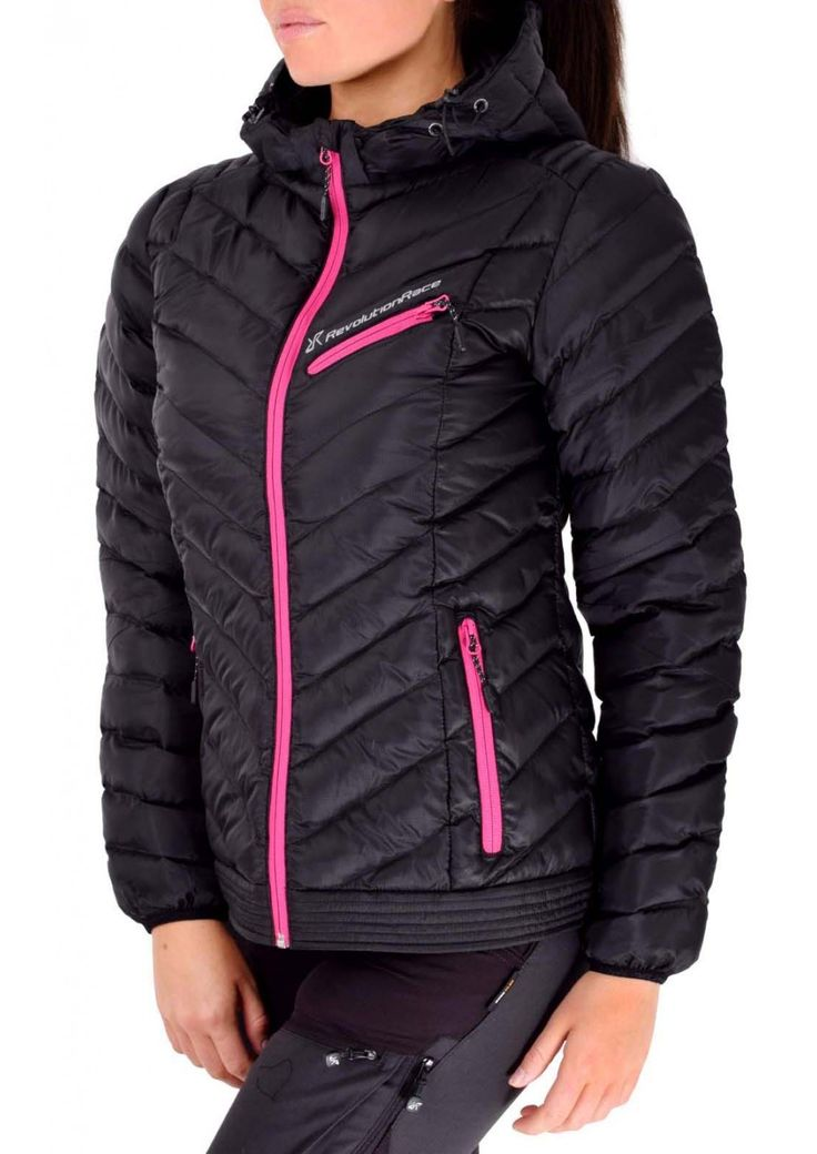 Thunderball jacket, Dam Black/Pink