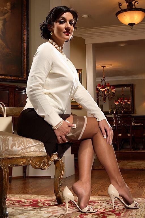 Sexy stocking models