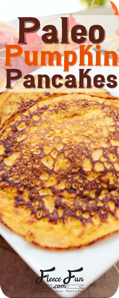 Paleo Pump-kin recipe. If you're into low carb recipes or enjoy pumpkin pancakes without having to measure out a whole recipe for pancakes when it is just you, then you will definitely need to try this recipe!