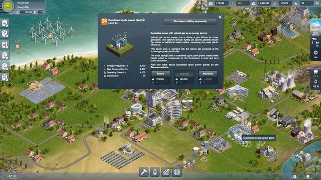 New online game lets you build a virtual city and power it with the perfect energy mix!