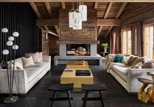 Les Plus Beaux Salons Cocooning A Copier Pour Un Hiver Tout Doux Elle Decoration Beaux Salons Amenagement Salon Idee Deco Appartement