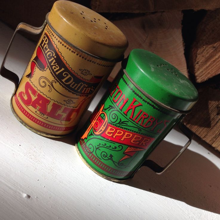 Vintage Salt and Pepper pots $5, Every Now and Then, Franconia, NH
