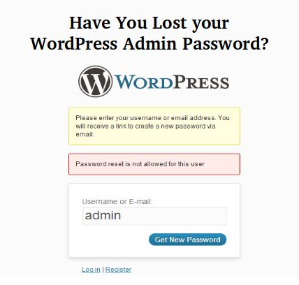 Have you lost the password of your WordPress admin? This blog describes different ways that you can reset your WordPress admin password.