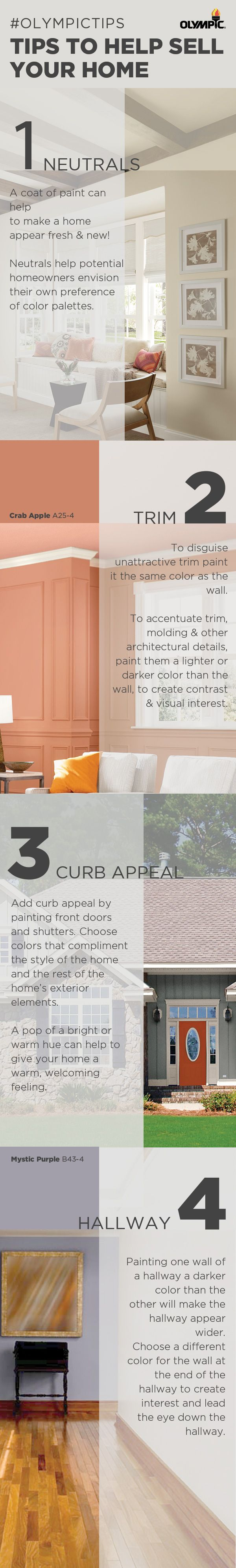 16 best images about tips to help sell your home on for Best color to paint house to sell