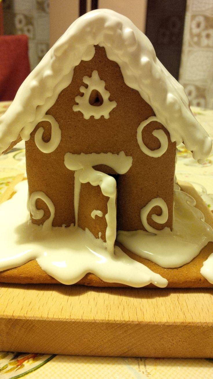 Mézeskalács házikó! :) Az első! :) Gingerbread house
