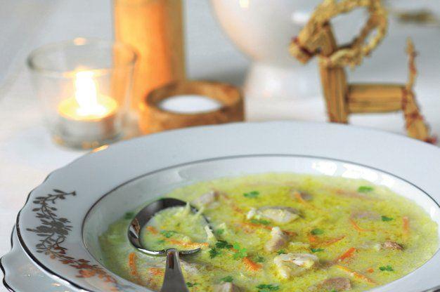 Vánoční rybí polévka | Apetitonline.cz