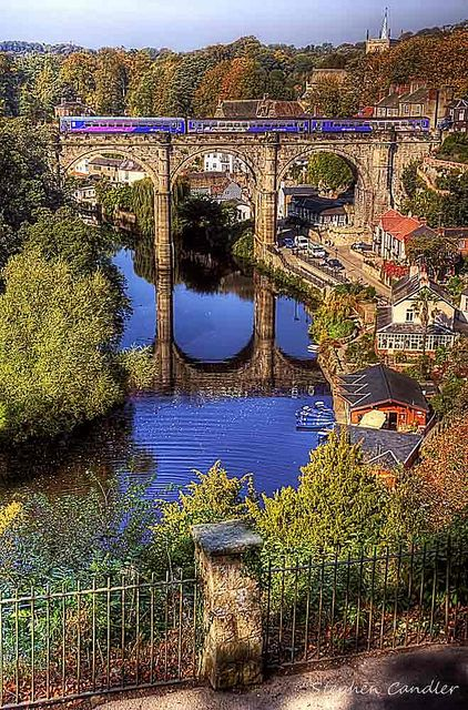 Knaresborough (Traditional View) by Light+Shade [spcandler.zenfolio.com], via Flickr