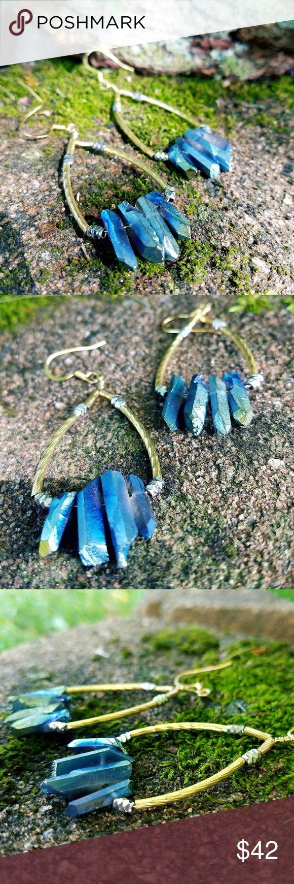 "Selling this ""Veritable Vivacity""⚡Titanium Crystal Earings on Poshmark! My username is: bearkatbandit. #shopmycloset #poshmark #fashion #shopping #style #forsale #Urban Outfitters #Jewelry"