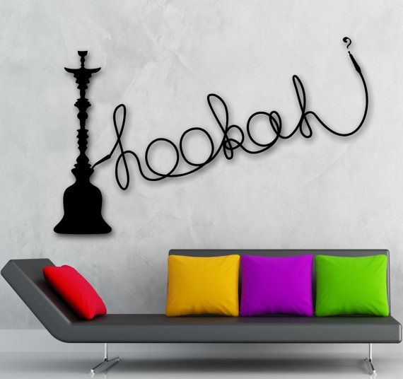 Hey, I found this really awesome Etsy listing at https://www.etsy.com/listing/195443363/wall-decal-hookah-shisha-cafe-relax