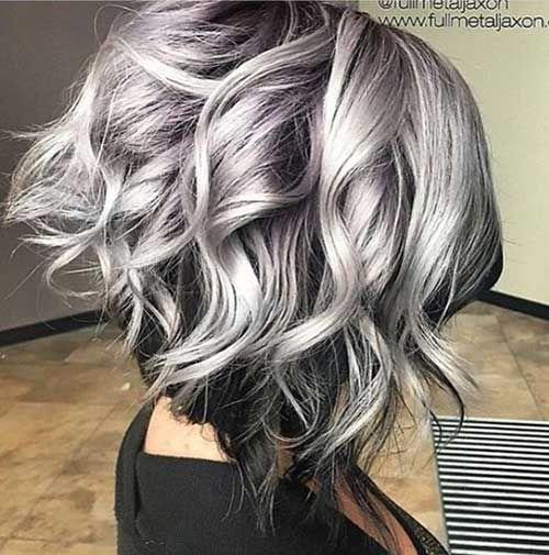 These Days Most Popular Short Grey Hair Ideas | http://www.short-haircut.com/these-days-most-popular-short-grey-hair-ideas.html