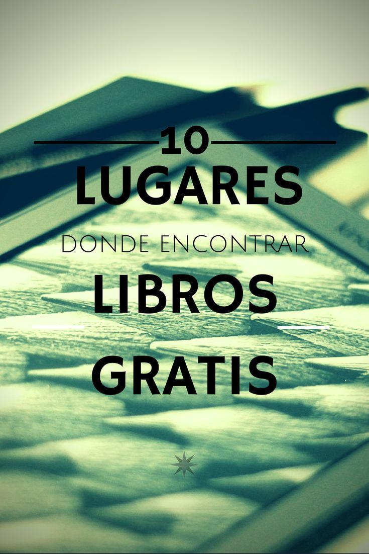 10 lugares donde encontrar libros gratis