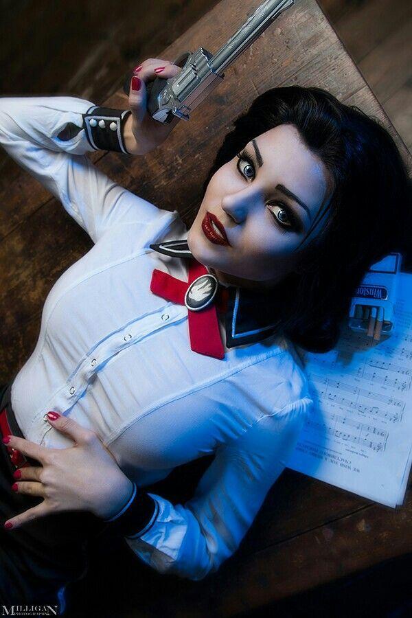 Elizabeth Bioshock Infinite burial at sea cosplay